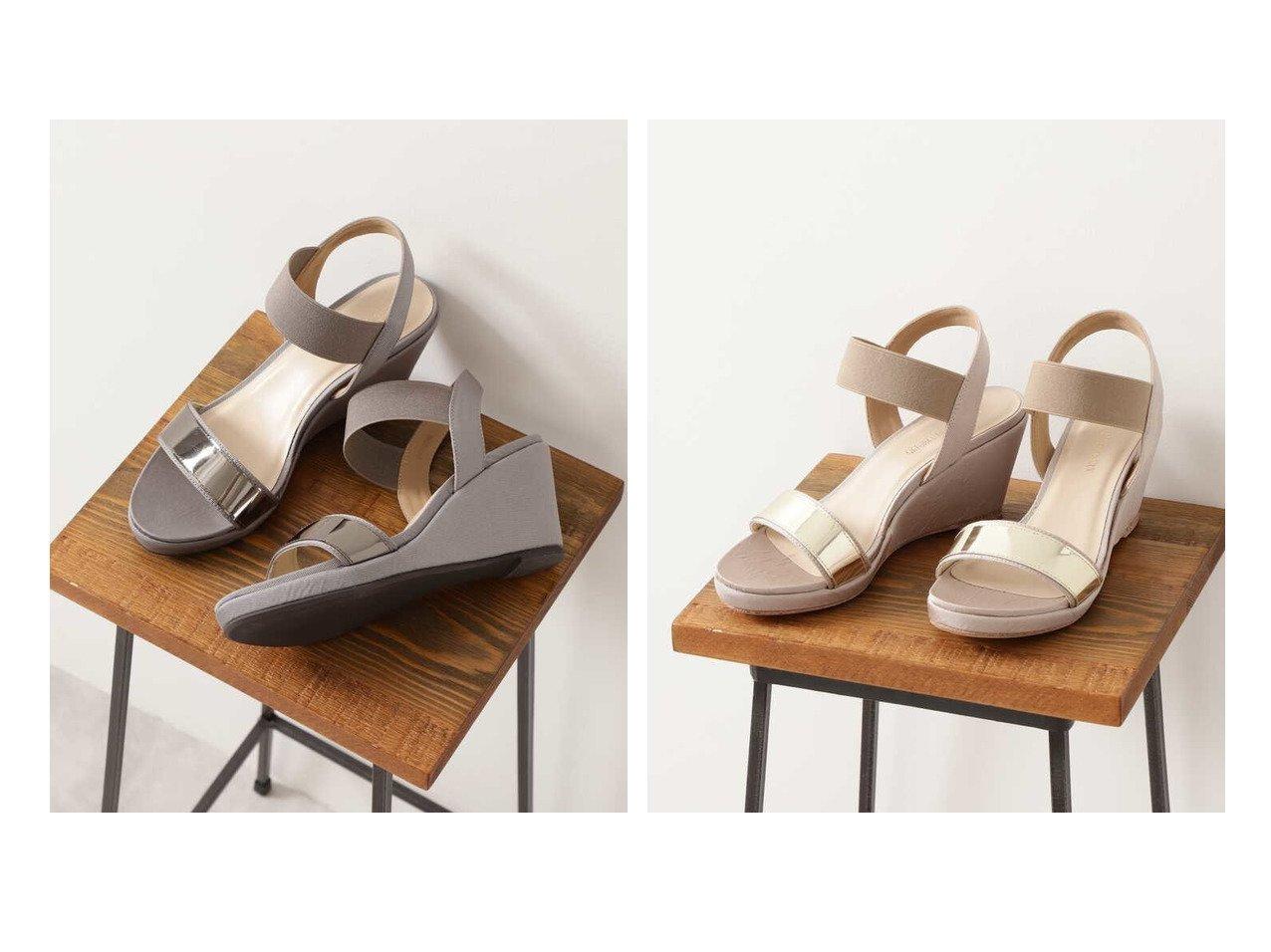 【NATURAL BEAUTY BASIC/ナチュラル ビューティー ベーシック】のフットベッドウェッジサンダル 【シューズ・靴】おすすめ!人気、トレンド・レディースファッションの通販 おすすめで人気の流行・トレンド、ファッションの通販商品 インテリア・家具・メンズファッション・キッズファッション・レディースファッション・服の通販 founy(ファニー) https://founy.com/ ファッション Fashion レディースファッション WOMEN インソール サンダル |ID:crp329100000045176