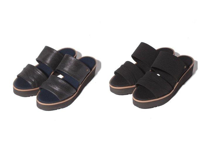 【LANVIN COLLECTION/ランバンコレクション】のプラットフォームミュールサンダル 【シューズ・靴】おすすめ!人気、トレンド・レディースファッションの通販 おすすめ人気トレンドファッション通販アイテム インテリア・キッズ・メンズ・レディースファッション・服の通販 founy(ファニー) https://founy.com/ ファッション Fashion レディースファッション WOMEN サンダル シューズ シンプル ダブル ワンポイント  ID:crp329100000045177