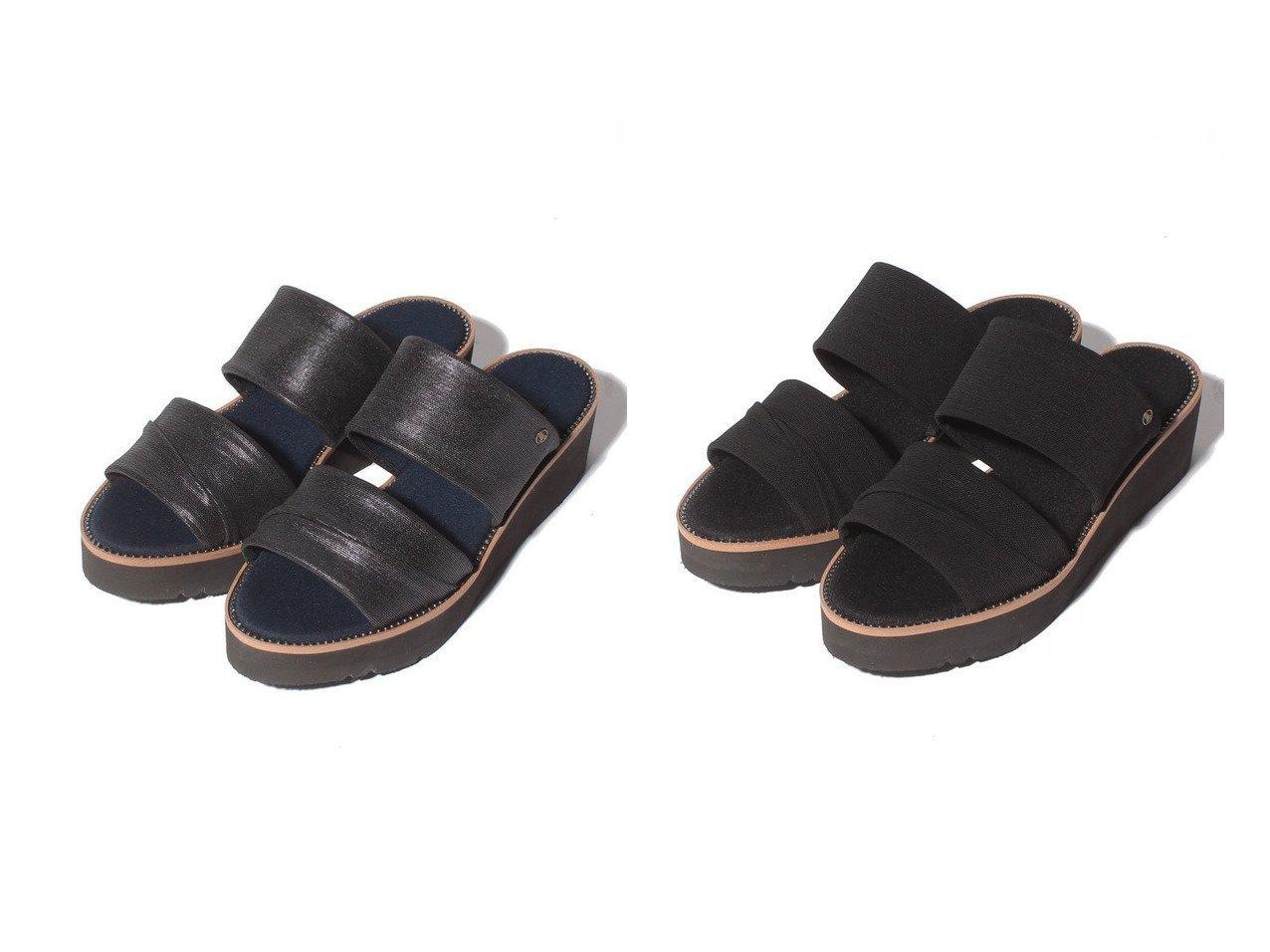 【LANVIN COLLECTION/ランバンコレクション】のプラットフォームミュールサンダル 【シューズ・靴】おすすめ!人気、トレンド・レディースファッションの通販 おすすめで人気の流行・トレンド、ファッションの通販商品 インテリア・家具・メンズファッション・キッズファッション・レディースファッション・服の通販 founy(ファニー) https://founy.com/ ファッション Fashion レディースファッション WOMEN サンダル シューズ シンプル ダブル ワンポイント |ID:crp329100000045177