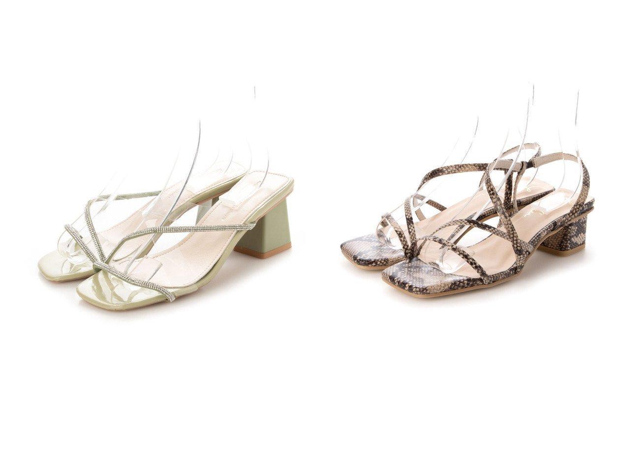 【Launa lea/ラウナレア】のクロスストラップサンダル&【STYLEBLOCK/スタイルブロック】のクリアベルトクロスサンダル 【シューズ・靴】おすすめ!人気、トレンド・レディースファッションの通販 おすすめで人気の流行・トレンド、ファッションの通販商品 インテリア・家具・メンズファッション・キッズファッション・レディースファッション・服の通販 founy(ファニー) https://founy.com/ ファッション Fashion レディースファッション WOMEN ベルト Belts 2021年 2021 2021春夏・S/S SS/Spring/Summer/2021 S/S・春夏 SS・Spring/Summer サンダル トレンド ブロック 春 Spring インソール クッション 抗菌 メッシュ ラップ リラックス おすすめ Recommend  ID:crp329100000045183