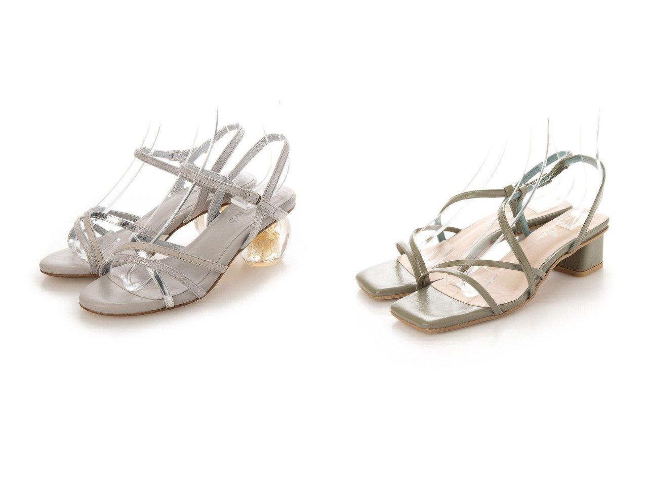 【HIMIKO/卑弥呼】のフラワーインクリアサンダル/611214&【Launa lea/ラウナレア】のクロスストラップサンダル 【シューズ・靴】おすすめ!人気、トレンド・レディースファッションの通販 おすすめで人気の流行・トレンド、ファッションの通販商品 インテリア・家具・メンズファッション・キッズファッション・レディースファッション・服の通販 founy(ファニー) https://founy.com/ ファッション Fashion レディースファッション WOMEN インソール 春 Spring クッション 抗菌 サンダル トレンド メッシュ ラップ リラックス 2021年 2021 S/S・春夏 SS・Spring/Summer 2021春夏・S/S SS/Spring/Summer/2021 おすすめ Recommend コレクション シンプル フラワー  ID:crp329100000045184