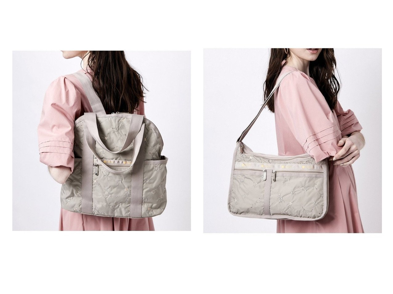 【LeSportsac/レスポートサック】の(レスポートサック)バックパック リュック 2442F921&(レスポートサック)ショルダーバッグ 7507F921 【バッグ・鞄】おすすめ!人気、トレンド・レディースファッションの通販 おすすめで人気の流行・トレンド、ファッションの通販商品 インテリア・家具・メンズファッション・キッズファッション・レディースファッション・服の通販 founy(ファニー) https://founy.com/ ファッション Fashion レディースファッション WOMEN バッグ Bag アクセサリー 傘 ショルダー 手帳 人気 ポケット ポーチ モチーフ NEW・新作・新着・新入荷 New Arrivals メッシュ リュック |ID:crp329100000045203