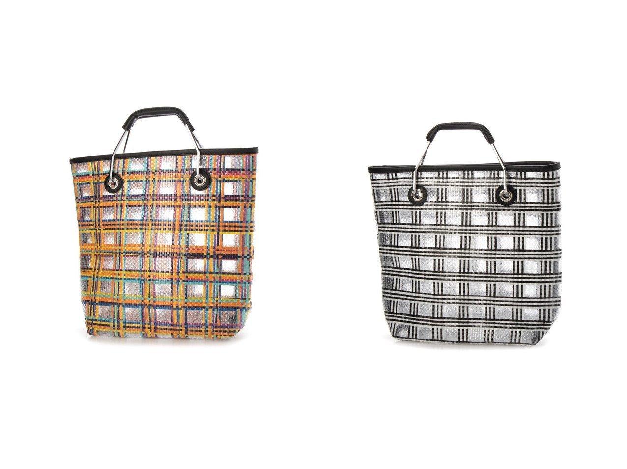 【MODE ET JACOMO SELECT/モードエジャコモ セレクト】のチェックデザインメッシュトートバッグ 【バッグ・鞄】おすすめ!人気、トレンド・レディースファッションの通販 おすすめで人気の流行・トレンド、ファッションの通販商品 インテリア・家具・メンズファッション・キッズファッション・レディースファッション・服の通販 founy(ファニー) https://founy.com/ ファッション Fashion レディースファッション WOMEN バッグ Bag 2021年 2021 2021春夏・S/S SS/Spring/Summer/2021 S/S・春夏 SS・Spring/Summer チェック メッシュ 春 Spring 財布 |ID:crp329100000045206