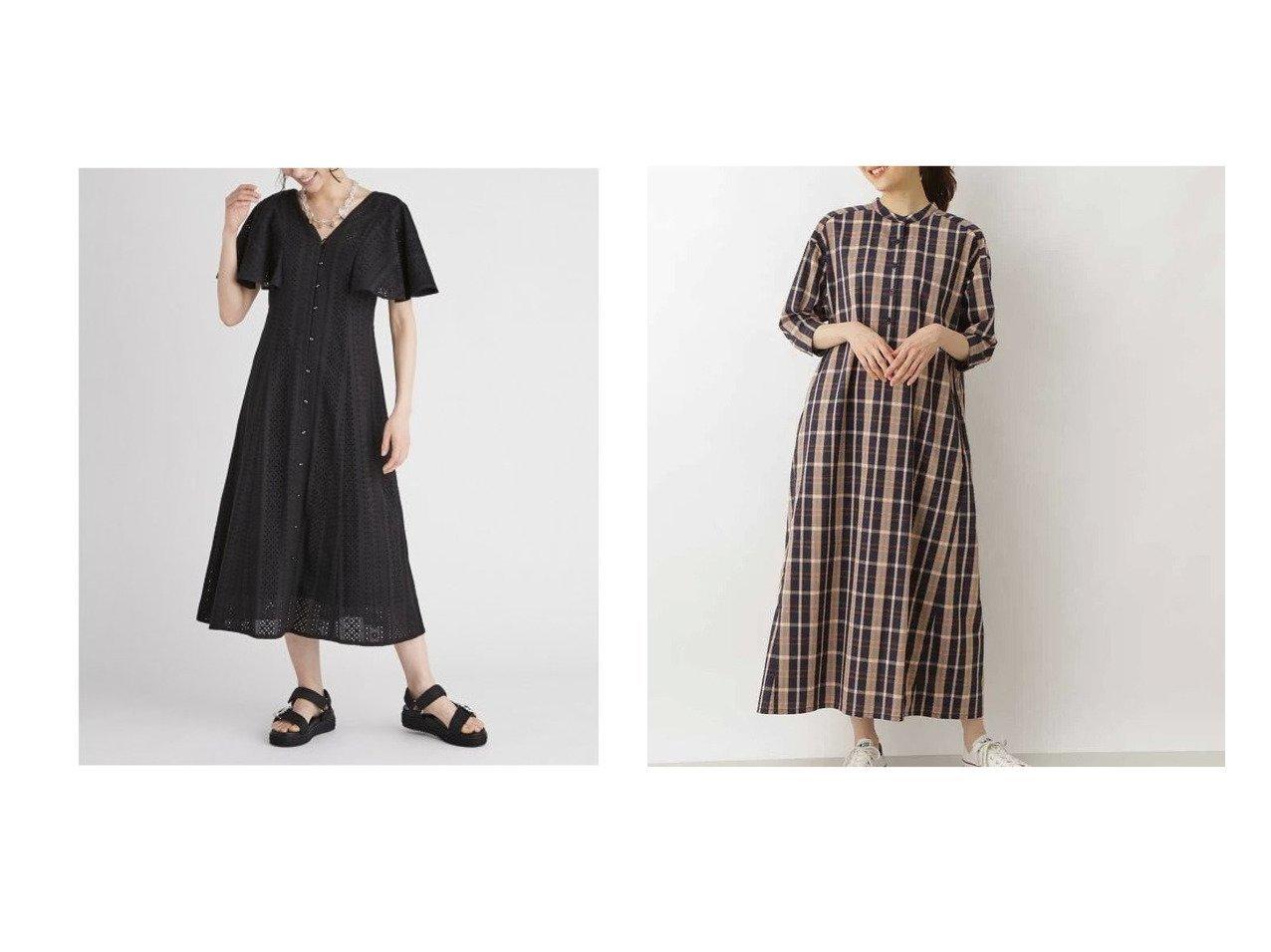 【CELFORD/セルフォード】のフィット&フレアポンチワンピース&【NATURAL BEAUTY BASIC/ナチュラル ビューティー ベーシック】の先染めチェックワンピース 【ワンピース・ドレス】おすすめ!人気、トレンド・レディースファッションの通販 おすすめで人気の流行・トレンド、ファッションの通販商品 インテリア・家具・メンズファッション・キッズファッション・レディースファッション・服の通販 founy(ファニー) https://founy.com/ ファッション Fashion レディースファッション WOMEN ワンピース Dress スマート チェック ポケット ウォッシャブル ストレッチ フィット 切替  ID:crp329100000045251