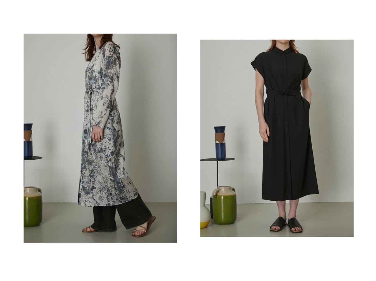 【RIM.ARK/リムアーク】のワンピース&ガウン 【トップス・カットソー】おすすめ!人気、トレンド・レディースファッションの通販 おすすめで人気の流行・トレンド、ファッションの通販商品 インテリア・家具・メンズファッション・キッズファッション・レディースファッション・服の通販 founy(ファニー) https://founy.com/ ファッション Fashion レディースファッション WOMEN トップス・カットソー Tops/Tshirt カーディガン Cardigans シャツ/ブラウス Shirts/Blouses ロング / Tシャツ T-Shirts カットソー Cut and Sewn ワンピース Dress カーディガン ガウン プリント おすすめ Recommend スマート タイプライター チェック ロング 無地  ID:crp329100000045259