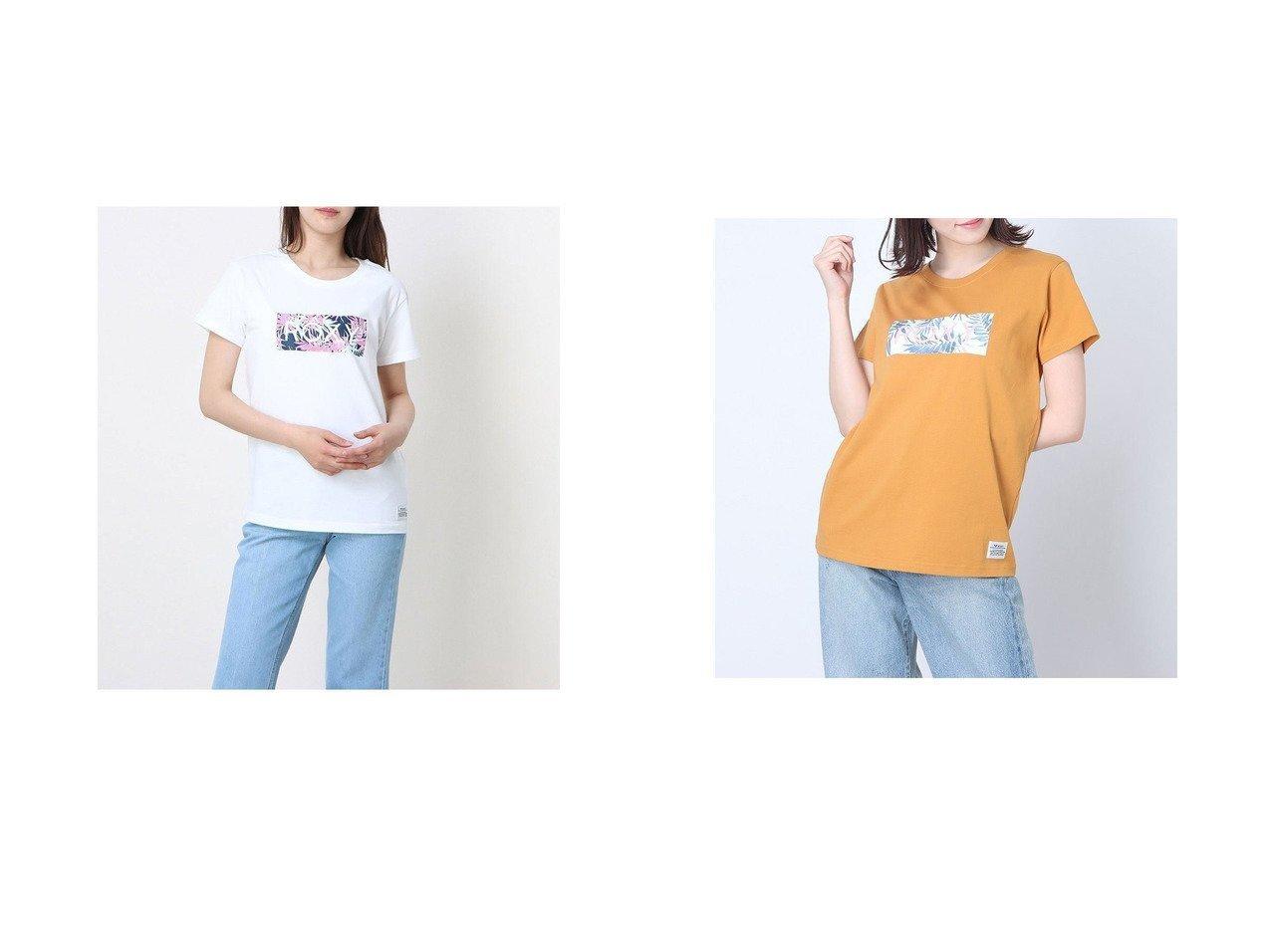 【ROXY/ロキシー】のロキシー ルーズシルエット ボタニカルロゴTシャツ RST202026 【トップス・カットソー】おすすめ!人気、トレンド・レディースファッションの通販 おすすめで人気の流行・トレンド、ファッションの通販商品 インテリア・家具・メンズファッション・キッズファッション・レディースファッション・服の通販 founy(ファニー) https://founy.com/ ファッション Fashion レディースファッション WOMEN トップス・カットソー Tops/Tshirt シャツ/ブラウス Shirts/Blouses ロング / Tシャツ T-Shirts ショート シンプル スマート ビーチ フロント リーフ レギンス |ID:crp329100000045320