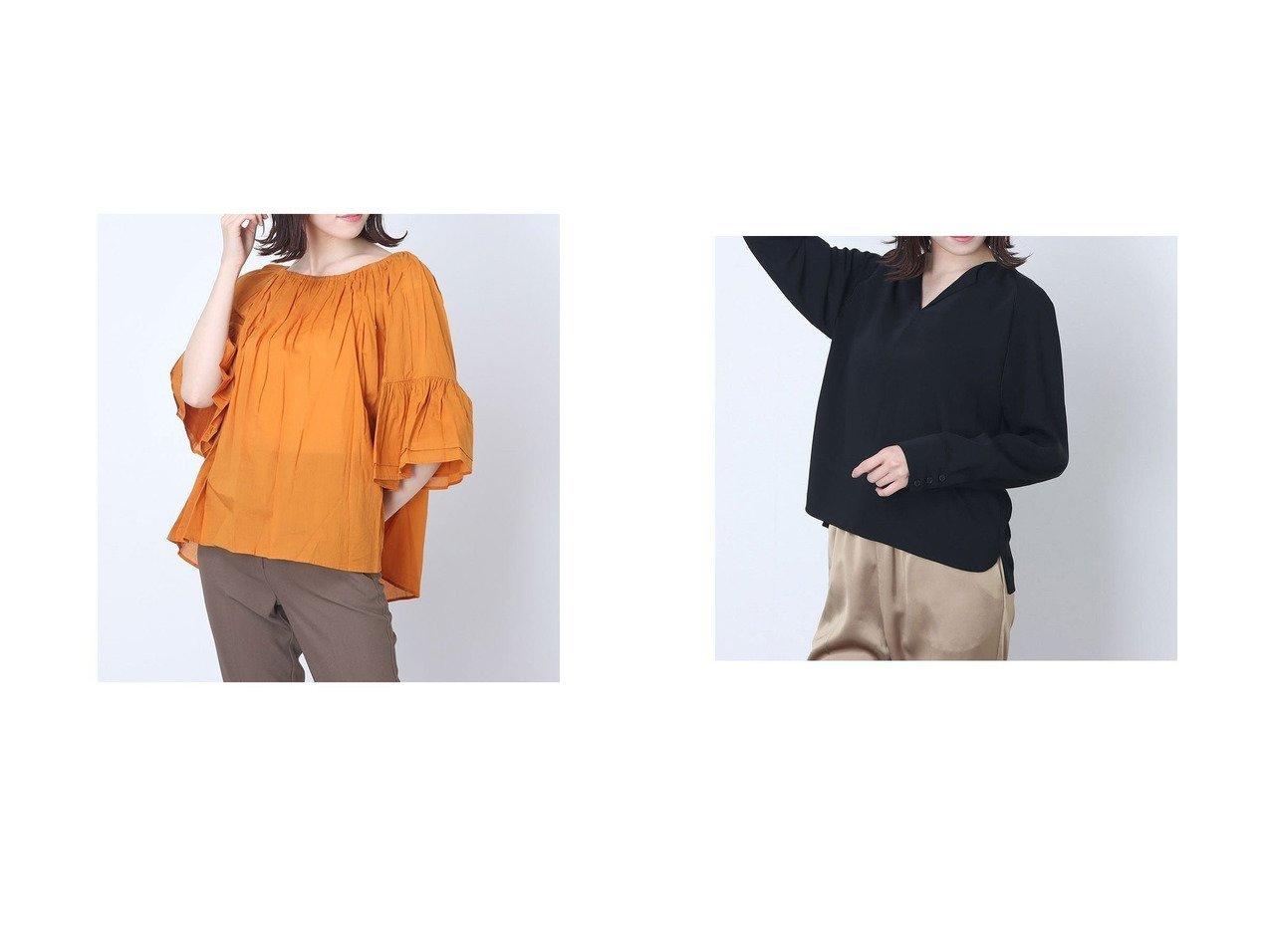 【Rename/リネーム】のフレアスリーブギャザーブラウス&オープンカラーとろみブラウス 【トップス・カットソー】おすすめ!人気、トレンド・レディースファッションの通販 おすすめで人気の流行・トレンド、ファッションの通販商品 インテリア・家具・メンズファッション・キッズファッション・レディースファッション・服の通販 founy(ファニー) https://founy.com/ ファッション Fashion レディースファッション WOMEN トップス・カットソー Tops/Tshirt シャツ/ブラウス Shirts/Blouses 2020年 2020 2020春夏・S/S SS・Spring/Summer/2020 S/S・春夏 SS・Spring/Summer おすすめ Recommend とろみ シンプル 春 Spring |ID:crp329100000045322