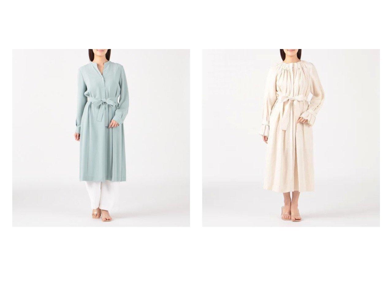 【Tiara/ティアラ】のオーバーレイヤードワンピース&ガウンワンピース おすすめ!人気、トレンド・レディースファッションの通販 おすすめで人気の流行・トレンド、ファッションの通販商品 インテリア・家具・メンズファッション・キッズファッション・レディースファッション・服の通販 founy(ファニー) https://founy.com/ ファッション Fashion レディースファッション WOMEN アウター Coat Outerwear コート Coats ワンピース Dress シャツワンピース Shirt Dresses カフス ガウン ギャザー フェミニン フレア ロング 今季 羽織 長袖  ID:crp329100000045350