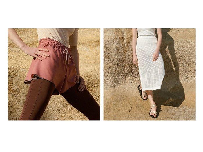 【Chacott/チャコット】のリバーシブルショートパンツ&アイレットニットスカート スポーツウェア・ヨガ・運動・ダイエットグッズなどのおすすめ!人気トレンド・レディースファッション通販 おすすめ人気トレンドファッション通販アイテム 人気、トレンドファッション・服の通販 founy(ファニー) ファッション Fashion レディースファッション WOMEN パンツ Pants ハーフ / ショートパンツ Short Pants スカート Skirt アンティーク コイン ショート ストレッチ タフタ パール リバーシブル ローズ 再入荷 Restock/Back in Stock/Re Arrival アイレット ペチコート レギンス |ID:crp329100000045470