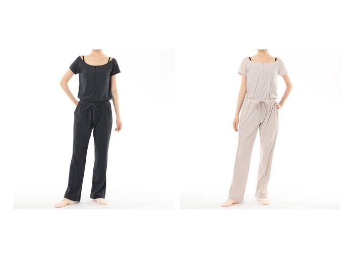 【Chacott/チャコット】のオールインワン スポーツウェア・ヨガ・フィットネス・運動・ダイエットグッズなどのおすすめ!人気トレンド・レディースファッション通販 おすすめ人気トレンドファッション通販アイテム 人気、トレンドファッション・服の通販 founy(ファニー) ファッション Fashion レディースファッション WOMEN ワンピース Dress オールインワン ワンピース All In One Dress ウォーム コンパクト ストレッチ ドローストリング |ID:crp329100000045481