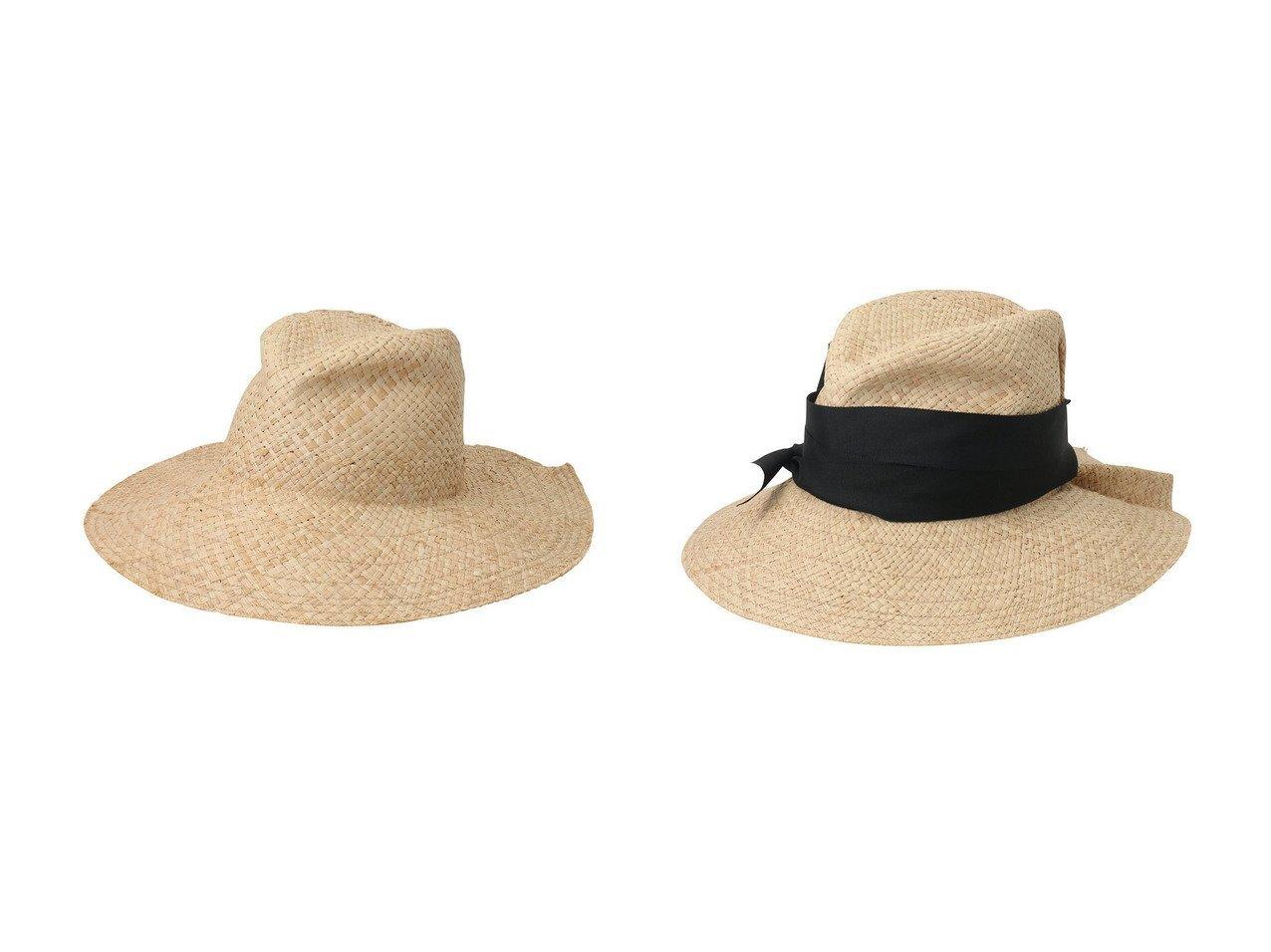 【heliopole/エリオポール】の【Lola HATS】ラフィアリボンハット COMMANDO&【Lola HATS】ラフィアリボンハット FIRSTAID おすすめ!人気、トレンド・レディースファッションの通販 おすすめで人気の流行・トレンド、ファッションの通販商品 インテリア・家具・メンズファッション・キッズファッション・レディースファッション・服の通販 founy(ファニー) https://founy.com/ ファッション Fashion レディースファッション WOMEN 帽子 Hats シンプル ラフィア 今季 定番 Standard ニューヨーク 帽子 |ID:crp329100000045488
