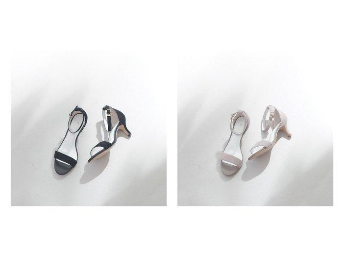 【Piche Abahouse/ピシェ アバハウス】のシンプルアンクルストラップサンダル 【シューズ・靴】おすすめ!人気、トレンド・レディースファッションの通販 おすすめ人気トレンドファッション通販アイテム 人気、トレンドファッション・服の通販 founy(ファニー)  ファッション Fashion レディースファッション WOMEN おすすめ Recommend クッション サンダル シューズ パープル フィット ミュール |ID:crp329100000045531
