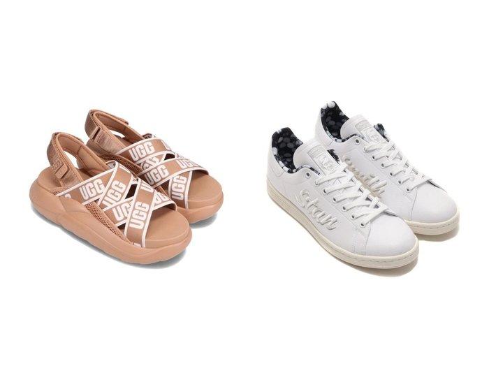 【adidas/アディダス】のadidas STAN SMITH&【UGG Australia/アグ】のUGG LA Cloud Sandal 【シューズ・靴】おすすめ!人気、トレンド・レディースファッションの通販 おすすめ人気トレンドファッション通販アイテム 人気、トレンドファッション・服の通販 founy(ファニー)  ファッション Fashion レディースファッション WOMEN グラフィック シューズ スニーカー スリッポン メンズ サンダル ミュール |ID:crp329100000045533
