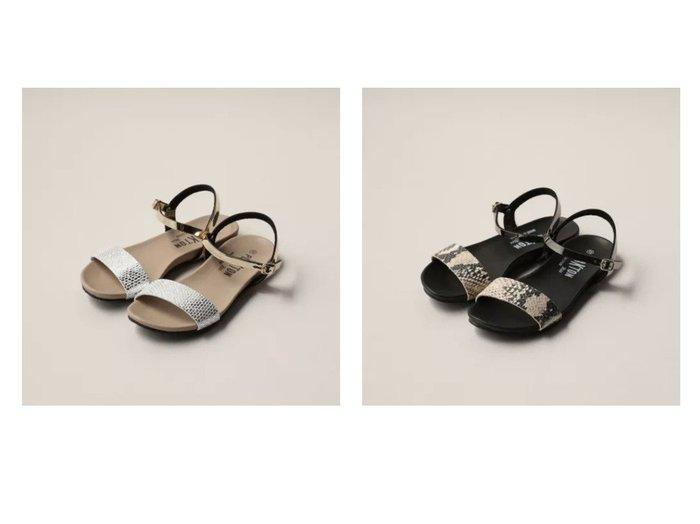 【Odette e Odile/オデット エ オディール】のPLAKTON PLN-ST SD 【シューズ・靴】おすすめ!人気、トレンド・レディースファッションの通販 おすすめ人気トレンドファッション通販アイテム 人気、トレンドファッション・服の通販 founy(ファニー) ファッション Fashion レディースファッション WOMEN サンダル シューズ ストラップサンダル フラット |ID:crp329100000045543