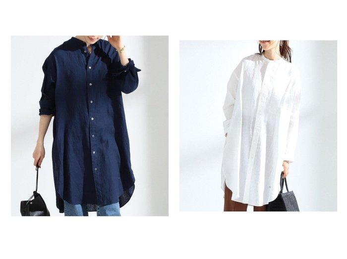 【Ray BEAMS/レイ ビームス】のリネン シャツ ワンピース 【ワンピース・ドレス】おすすめ!人気、トレンド・レディースファッションの通販 おすすめ人気トレンドファッション通販アイテム 人気、トレンドファッション・服の通販 founy(ファニー)  ファッション Fashion レディースファッション WOMEN ワンピース Dress シャツワンピース Shirt Dresses おすすめ Recommend リネン レギンス ワイド |ID:crp329100000045561