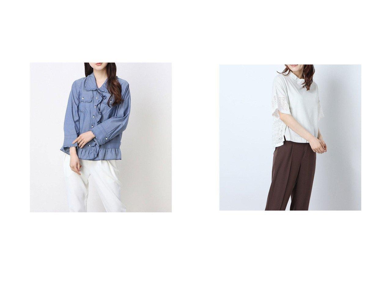 【Rename/リネーム】のパールフリルモチーフジャケットシャツ&レースコンビハイネックTシャツ おすすめ!人気、トレンド・レディースファッションの通販 おすすめで人気の流行・トレンド、ファッションの通販商品 インテリア・家具・メンズファッション・キッズファッション・レディースファッション・服の通販 founy(ファニー) https://founy.com/ ファッション Fashion レディースファッション WOMEN アウター Coat Outerwear ジャケット Jackets トップス・カットソー Tops/Tshirt シャツ/ブラウス Shirts/Blouses ロング / Tシャツ T-Shirts 2020年 2020 2020春夏・S/S SS・Spring/Summer/2020 S/S・春夏 SS・Spring/Summer 春 Spring |ID:crp329100000045816