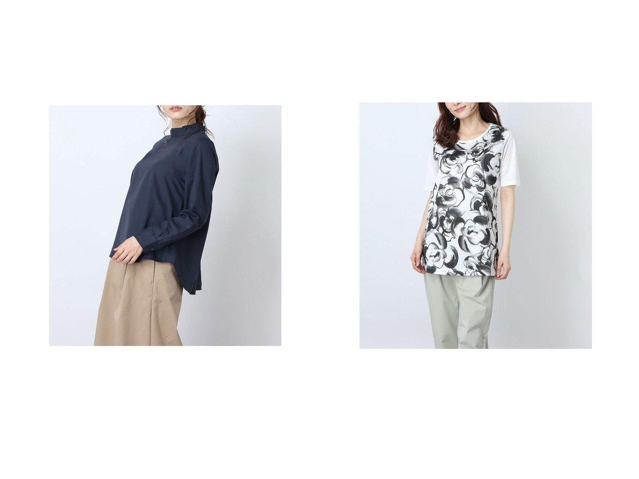 【Rename/リネーム】のスタンドカラーAラインブラウス&和風花柄プリントTシャツ おすすめ!人気、トレンド・レディースファッションの通販 おすすめで人気の流行・トレンド、ファッションの通販商品 インテリア・家具・メンズファッション・キッズファッション・レディースファッション・服の通販 founy(ファニー) https://founy.com/ ファッション Fashion レディースファッション WOMEN トップス・カットソー Tops/Tshirt シャツ/ブラウス Shirts/Blouses ロング / Tシャツ T-Shirts 花柄・フラワープリント・モチーフ Flower Patterns 2020年 2020 2020春夏・S/S SS・Spring/Summer/2020 S/S・春夏 SS・Spring/Summer スタンド 春 Spring |ID:crp329100000045817