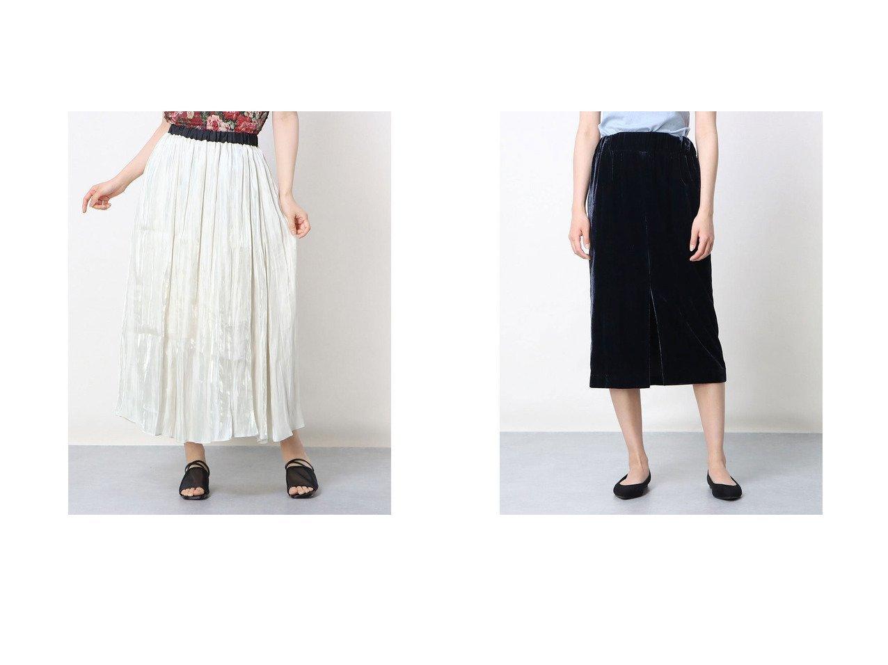 【Rename/リネーム】の光沢ギャザースカート&ベロアスリットタイトスカート おすすめ!人気、トレンド・レディースファッションの通販 おすすめで人気の流行・トレンド、ファッションの通販商品 インテリア・家具・メンズファッション・キッズファッション・レディースファッション・服の通販 founy(ファニー) https://founy.com/ ファッション Fashion レディースファッション WOMEN スカート Skirt 2021年 2021 2021春夏・S/S SS/Spring/Summer/2021 S/S・春夏 SS・Spring/Summer 春 Spring |ID:crp329100000045823
