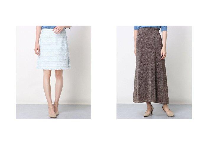 【Rename/リネーム】のツイード調台形スカート&ラメニットギャザースカート おすすめ!人気、トレンド・レディースファッションの通販 おすすめ人気トレンドファッション通販アイテム 人気、トレンドファッション・服の通販 founy(ファニー) ファッション Fashion レディースファッション WOMEN スカート Skirt 台形スカート Trapezoid Skirt ツイード 台形 2021年 2021 2021春夏・S/S SS/Spring/Summer/2021 S/S・春夏 SS・Spring/Summer 春 Spring  ID:crp329100000045824