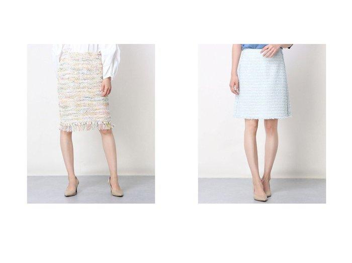 【Rename/リネーム】のツイード調台形スカート&ツイード調ミックスカラースカート おすすめ!人気、トレンド・レディースファッションの通販 おすすめ人気トレンドファッション通販アイテム 人気、トレンドファッション・服の通販 founy(ファニー) ファッション Fashion レディースファッション WOMEN スカート Skirt 台形スカート Trapezoid Skirt ツイード 台形  ID:crp329100000045825