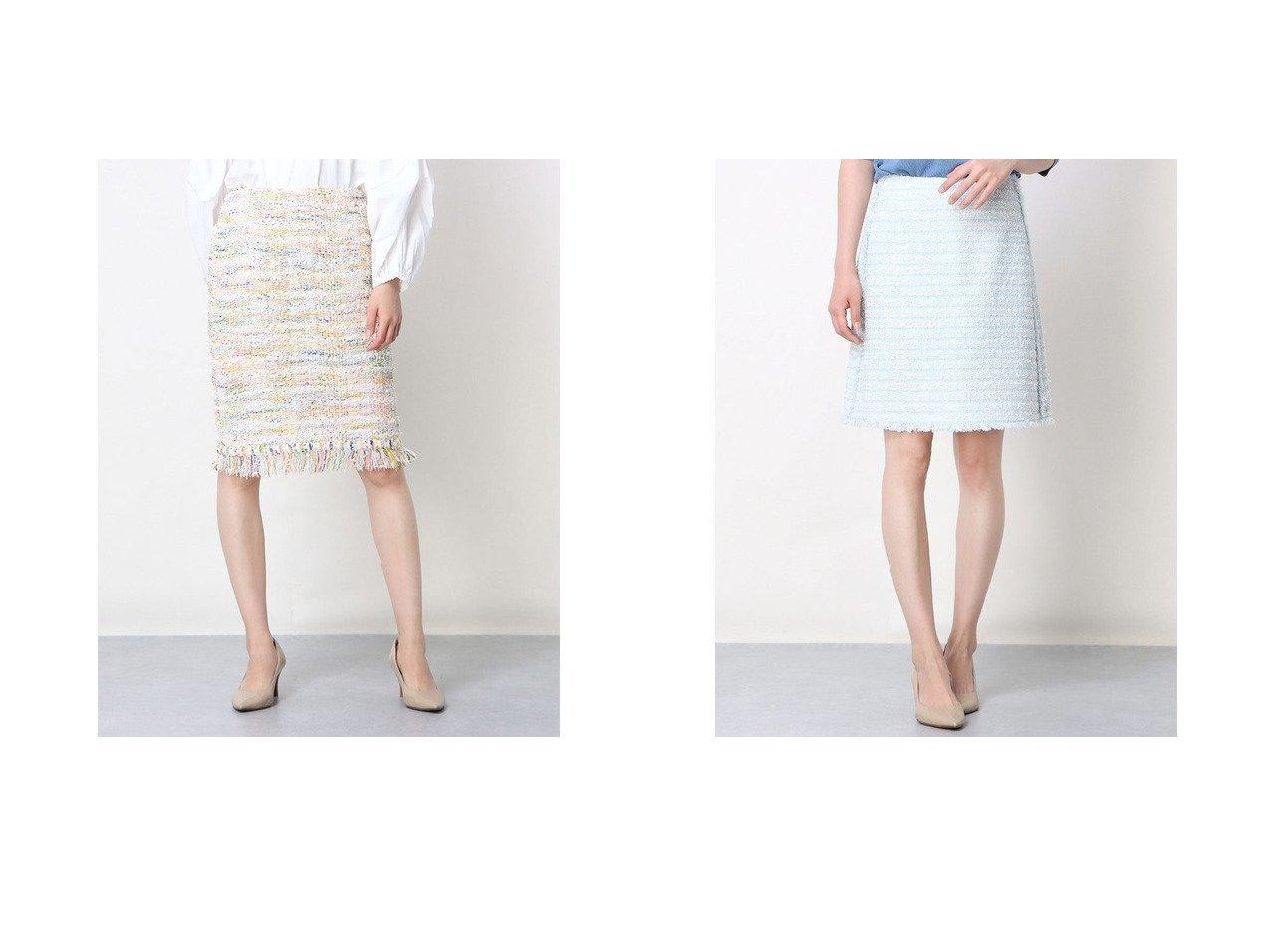 【Rename/リネーム】のツイード調台形スカート&ツイード調ミックスカラースカート おすすめ!人気、トレンド・レディースファッションの通販 おすすめで人気の流行・トレンド、ファッションの通販商品 インテリア・家具・メンズファッション・キッズファッション・レディースファッション・服の通販 founy(ファニー) https://founy.com/ ファッション Fashion レディースファッション WOMEN スカート Skirt 台形スカート Trapezoid Skirt ツイード 台形 |ID:crp329100000045825