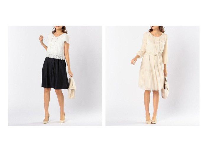 【any SiS/エニィ スィス】のレースコンビシャンタン ワンピース&【ベルト付・洗える】フェミニンプリーツ ワンピース 【ワンピース・ドレス】おすすめ!人気、トレンド・レディースファッションの通販 おすすめ人気トレンドファッション通販アイテム 人気、トレンドファッション・服の通販 founy(ファニー) ファッション Fashion レディースファッション WOMEN ワンピース Dress ベルト Belts 送料無料 Free Shipping おすすめ Recommend シフォン ジャケット フェミニン プリーツ レース 洗える コンビ シャンタン ストール ドッキング ボレロ |ID:crp329100000045966