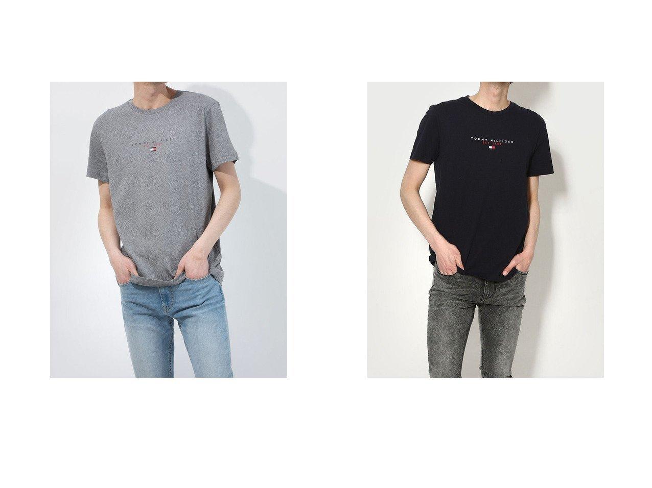 【TOMMY HILFIGER/トミーヒルフィガー】の【オンライン限定】ロゴTシャツ おすすめ!人気トレンド・レディースファッション通販 おすすめで人気の流行・トレンド、ファッションの通販商品 インテリア・家具・メンズファッション・キッズファッション・レディースファッション・服の通販 founy(ファニー) https://founy.com/ ファッション Fashion レディースファッション WOMEN トップス・カットソー Tops/Tshirt シャツ/ブラウス Shirts/Blouses ロング / Tシャツ T-Shirts 2021年 2021 2021春夏・S/S SS/Spring/Summer/2021 S/S・春夏 SS・Spring/Summer フィット プリント ボックス レギュラー 定番 Standard 春 Spring |ID:crp329100000046047