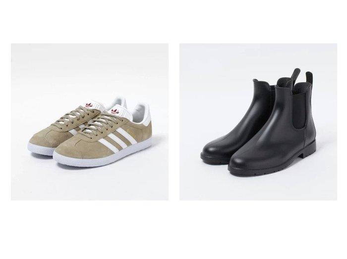 【MEDUSE/メデュース】のサイドゴアレインシューズ&【adidas Originals/アディダス オリジナルス】のGAZELLE W 【シューズ・靴】おすすめ!人気、トレンド・レディースファッションの通販 おすすめ人気トレンドファッション通販アイテム 人気、トレンドファッション・服の通販 founy(ファニー)  雑誌掲載アイテム Magazine Items ファッション雑誌 Fashion Magazines リー LEE ファッション Fashion レディースファッション WOMEN 6月号 シューズ スエード スニーカー デニム 雑誌 |ID:crp329100000046139