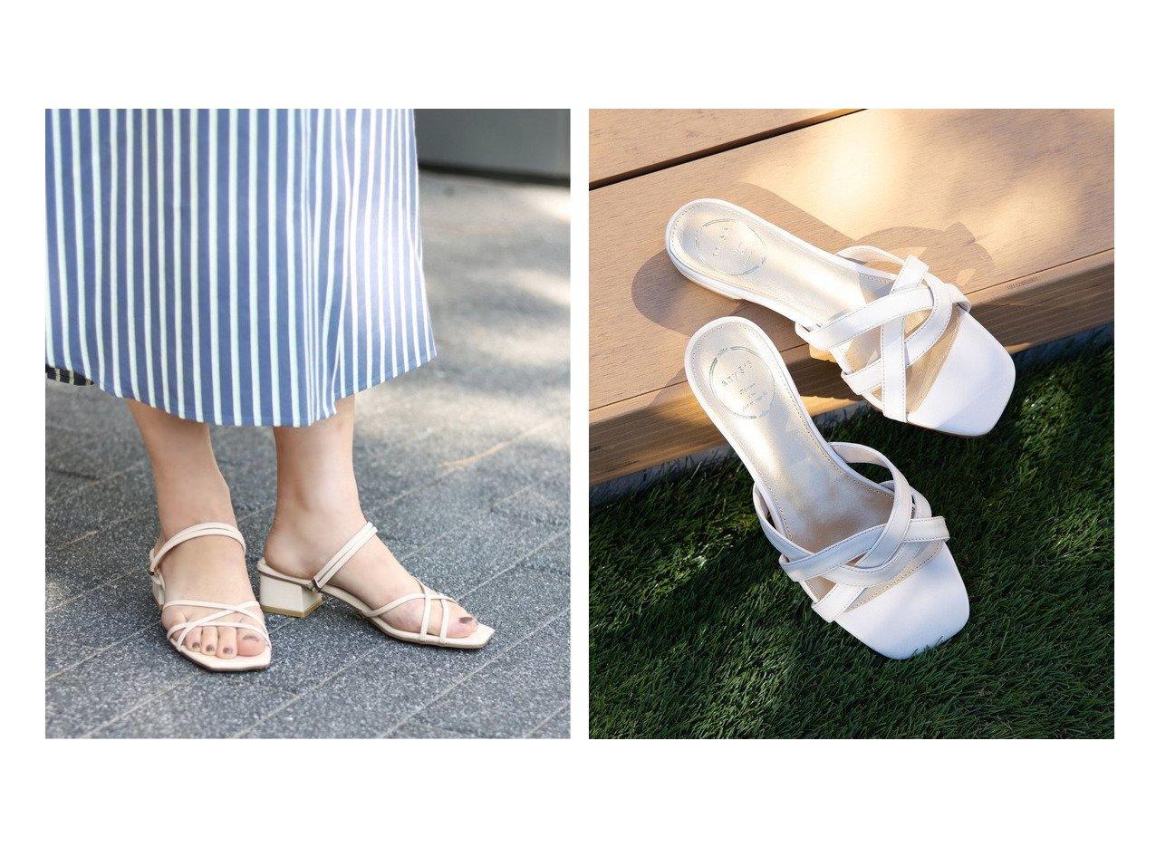 【Le Talon/ル タロン】の3.5cmスクエア2WAYサンダル&【any SiS/エニィ スィス】のメッシュローヒール サンダル 【シューズ・靴】おすすめ!人気、トレンド・レディースファッションの通販 おすすめで人気の流行・トレンド、ファッションの通販商品 インテリア・家具・メンズファッション・キッズファッション・レディースファッション・服の通販 founy(ファニー) https://founy.com/ ファッション Fashion レディースファッション WOMEN 2021年 2021 2021春夏・S/S SS/Spring/Summer/2021 S/S・春夏 SS・Spring/Summer サンダル シューズ スクエア ラップ 送料無料 Free Shipping メッシュ |ID:crp329100000046144