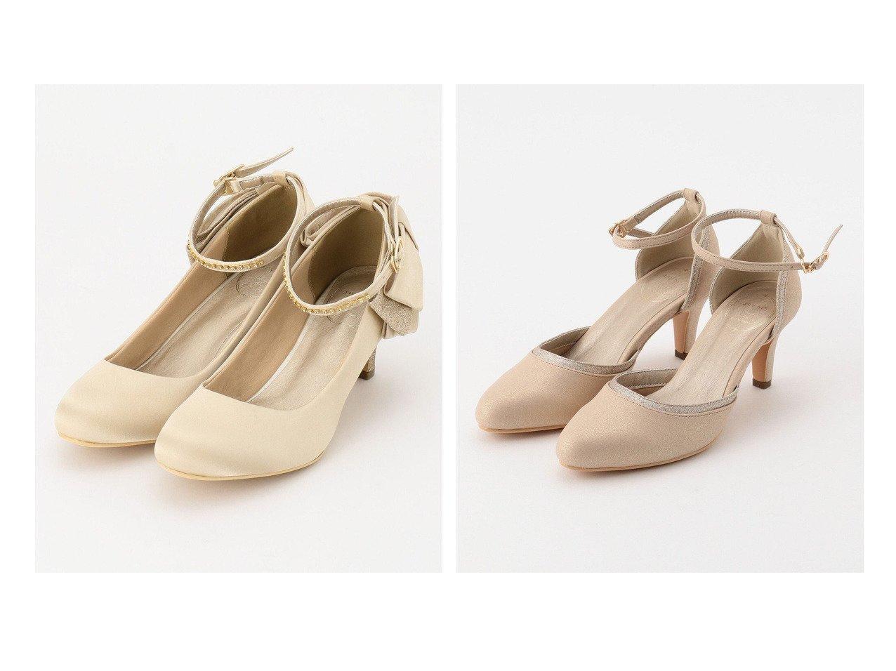 【any SiS/エニィ スィス】の【疲れにくい】シャイニーダブルリボン パンプス&フェミニンラメ パンプス 【シューズ・靴】おすすめ!人気、トレンド・レディースファッションの通販 おすすめで人気の流行・トレンド、ファッションの通販商品 インテリア・家具・メンズファッション・キッズファッション・レディースファッション・服の通販 founy(ファニー) https://founy.com/ ファッション Fashion レディースファッション WOMEN 送料無料 Free Shipping おすすめ Recommend クッション シューズ パーティ フェミニン フォーマル ラップ リボン |ID:crp329100000046147
