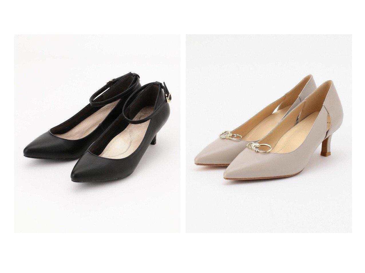 【JIYU-KU/自由区】のビジューモチーフ付き 2WAY パンプス&【any SiS/エニィ スィス】の【疲れにくい】コンフォート2WAY パンプス 【シューズ・靴】おすすめ!人気、トレンド・レディースファッションの通販 おすすめで人気の流行・トレンド、ファッションの通販商品 インテリア・家具・メンズファッション・キッズファッション・レディースファッション・服の通販 founy(ファニー) https://founy.com/ ファッション Fashion レディースファッション WOMEN 送料無料 Free Shipping おすすめ Recommend クッション シューズ シンプル ベーシック ラップ 無地 インソール カッティング 雑誌 |ID:crp329100000046148