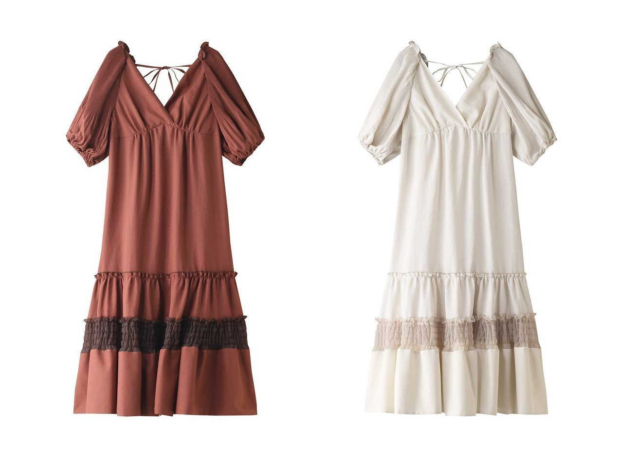 【LANVIN en Bleu/ランバン オン ブルー】のボリュームスリーブカシュクールワンピース 【ワンピース・ドレス】おすすめ!人気、トレンド・レディースファッションの通販 おすすめで人気の流行・トレンド、ファッションの通販商品 インテリア・家具・メンズファッション・キッズファッション・レディースファッション・服の通販 founy(ファニー) https://founy.com/ ファッション Fashion レディースファッション WOMEN ワンピース Dress スリーブ プリーツ |ID:crp329100000046222