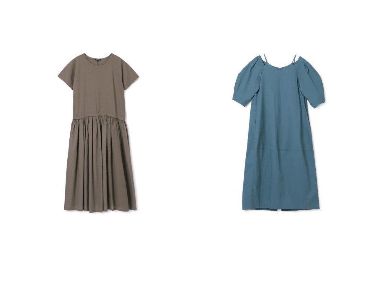 【pas de calais/パドカレ】の21SS布帛切り替えワンピース&【LE CIEL BLEU/ルシェル ブルー】のHeartNeckCocoonDress 【ワンピース・ドレス】おすすめ!人気、トレンド・レディースファッションの通販 おすすめで人気の流行・トレンド、ファッションの通販商品 インテリア・家具・メンズファッション・キッズファッション・レディースファッション・服の通販 founy(ファニー) https://founy.com/ ファッション Fashion レディースファッション WOMEN ワンピース Dress ドレス Party Dresses 2021年 2021 2021春夏・S/S SS/Spring/Summer/2021 S/S・春夏 SS・Spring/Summer ギャザー コンビ シンプル ストライプ ドッキング ロング 半袖 洗える 無地 コクーン デコルテ フェミニン ラップ |ID:crp329100000046229