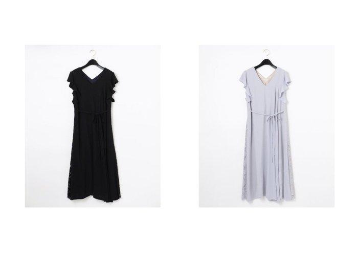 【GRACE CONTINENTAL/グレース コンチネンタル】のバックレースドレス 【ワンピース・ドレス】おすすめ!人気、トレンド・レディースファッションの通販 おすすめ人気トレンドファッション通販アイテム 人気、トレンドファッション・服の通販 founy(ファニー) ファッション Fashion レディースファッション WOMEN ワンピース Dress ドレス Party Dresses ドレス フォーマル |ID:crp329100000046233