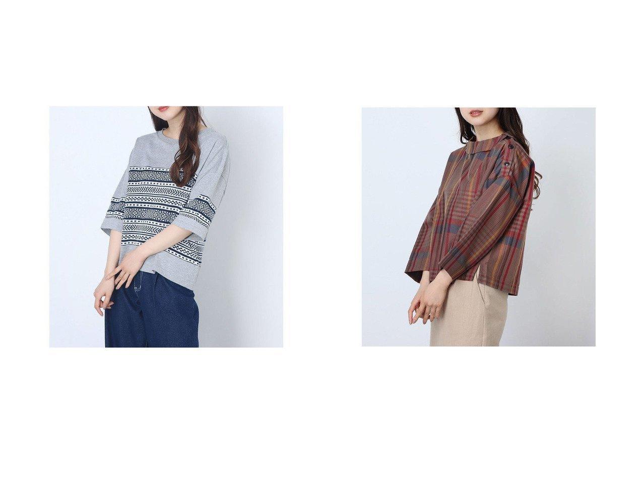 【Rename/リネーム】のニットコンビTシャツ&きれいめさらっとしたチェックプリントブラウス おすすめ!人気トレンド・レディースファッション通販 おすすめで人気の流行・トレンド、ファッションの通販商品 インテリア・家具・メンズファッション・キッズファッション・レディースファッション・服の通販 founy(ファニー) https://founy.com/ ファッション Fashion レディースファッション WOMEN トップス・カットソー Tops/Tshirt ニット Knit Tops シャツ/ブラウス Shirts/Blouses ロング / Tシャツ T-Shirts 2020年 2020 2020春夏・S/S SS・Spring/Summer/2020 S/S・春夏 SS・Spring/Summer おすすめ Recommend コンビ 春 Spring |ID:crp329100000046266