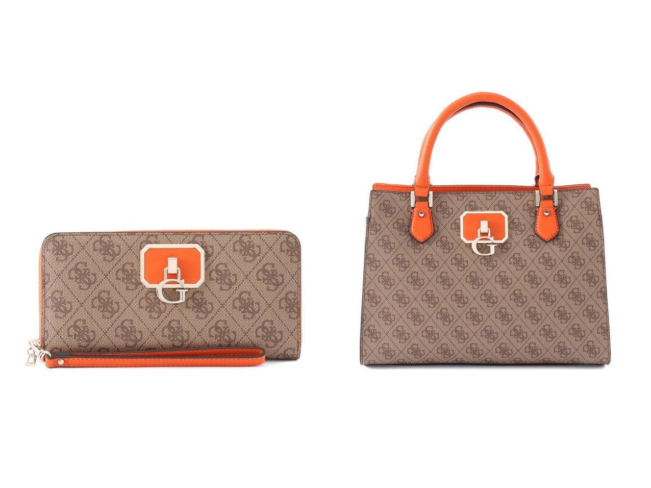 【GUESS/ゲス】のALISA Large Zip Around Wallet&ALISA Girlfriend Satchel おすすめ!人気トレンド・レディースファッション通販 おすすめで人気の流行・トレンド、ファッションの通販商品 インテリア・家具・メンズファッション・キッズファッション・レディースファッション・服の通販 founy(ファニー) https://founy.com/ ファッション Fashion レディースファッション WOMEN 2021年 2021 2021春夏・S/S SS/Spring/Summer/2021 S/S・春夏 SS・Spring/Summer ポケット ラップ 定番 Standard 春 Spring インナー チェーン フロント モチーフ ラグジュアリー 財布 |ID:crp329100000046285