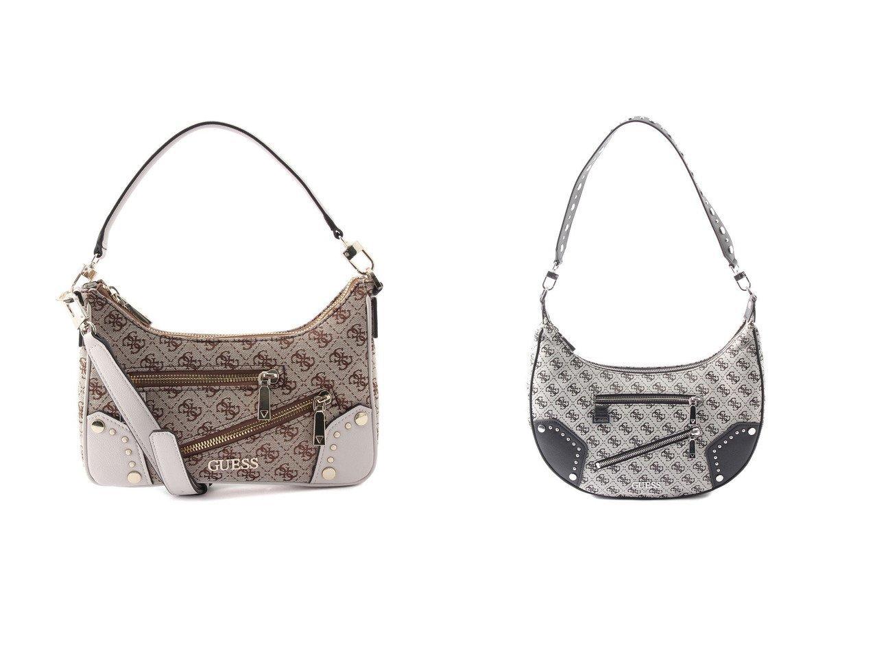 【GUESS/ゲス】のFRANKIE Top Zip Shoulder Bag&FRANKIE Hobo おすすめ!人気トレンド・レディースファッション通販 おすすめで人気の流行・トレンド、ファッションの通販商品 インテリア・家具・メンズファッション・キッズファッション・レディースファッション・服の通販 founy(ファニー) https://founy.com/ ファッション Fashion レディースファッション WOMEN バッグ Bag 2021年 2021 2021春夏・S/S SS/Spring/Summer/2021 S/S・春夏 SS・Spring/Summer ポケット ラップ 春 Spring スタイリッシュ スタッズ メタル 財布 |ID:crp329100000046288