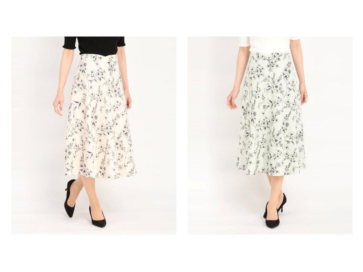 【STRAWBERRY FIELDS/ストロベリーフィールズ】のSTRAWBERRY-エチュードII スカート おすすめ!人気トレンド・レディースファッション通販 おすすめで人気の流行・トレンド、ファッションの通販商品 インテリア・家具・メンズファッション・キッズファッション・レディースファッション・服の通販 founy(ファニー) https://founy.com/ ファッション Fashion レディースファッション WOMEN スカート Skirt Aライン/フレアスカート Flared A-Line Skirts バスケット フレア プリント ボタニカル 今季 |ID:crp329100000046294