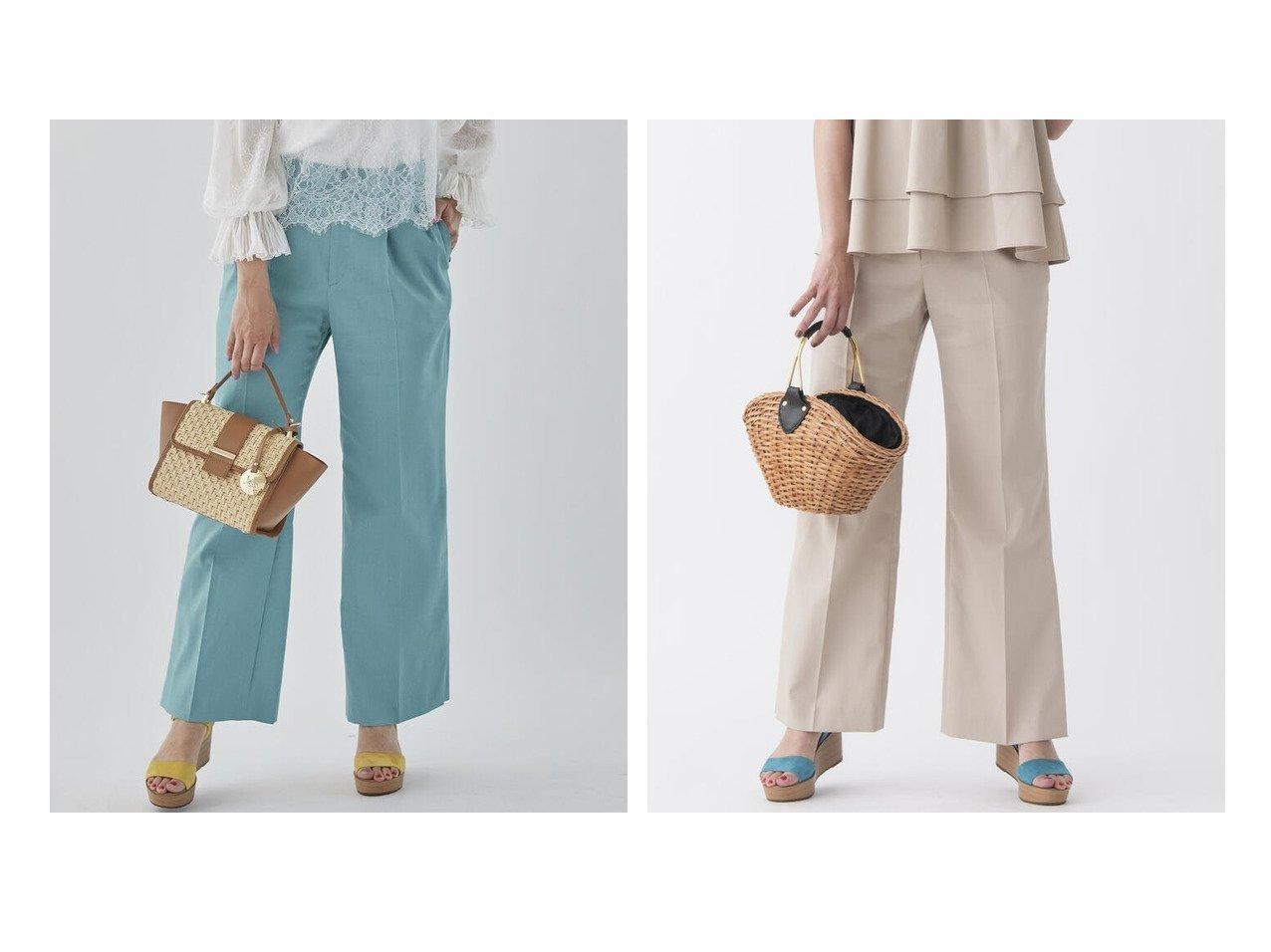 【Viaggio Blu/ビアッジョブルー】の≪SET UP対応≫ストレッチワイドパンツ 【パンツ】おすすめ!人気トレンド・レディースファッション通販 おすすめで人気の流行・トレンド、ファッションの通販商品 インテリア・家具・メンズファッション・キッズファッション・レディースファッション・服の通販 founy(ファニー) https://founy.com/ ファッション Fashion レディースファッション WOMEN パンツ Pants センター ワイド 再入荷 Restock/Back in Stock/Re Arrival  ID:crp329100000046310