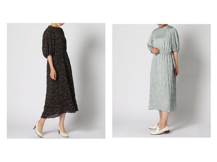 【GLOBAL WORK/グローバルワーク】のマジョリカプリーツOP+D 【プチプライス・低価格】おすすめ!人気トレンド・レディースファッション通販 おすすめ人気トレンドファッション通販アイテム 人気、トレンドファッション・服の通販 founy(ファニー) ファッション Fashion レディースファッション WOMEN ワンピース Dress NEW・新作・新着・新入荷 New Arrivals サテン フレア プリント プリーツ リボン |ID:crp329100000046412