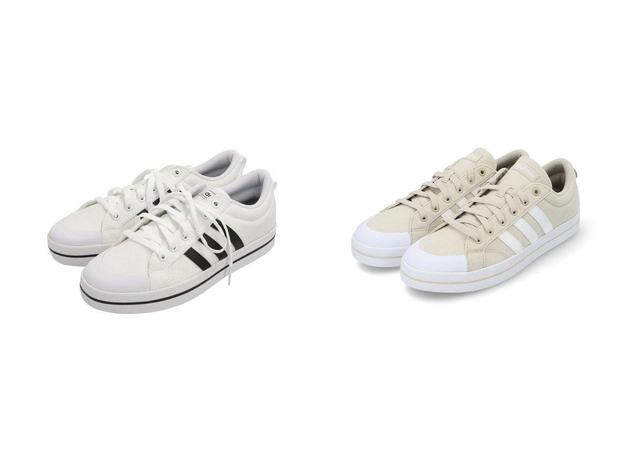【adidas Sports Performance/アディダス スポーツ パフォーマンス】のBRAVADA 【シューズ・靴】おすすめ!人気トレンド・レディースファッション通販 おすすめで人気の流行・トレンド、ファッションの通販商品 インテリア・家具・メンズファッション・キッズファッション・レディースファッション・服の通販 founy(ファニー) https://founy.com/ ファッション Fashion レディースファッション WOMEN キャンバス シューズ スニーカー スリッポン フィット レギュラー |ID:crp329100000046500