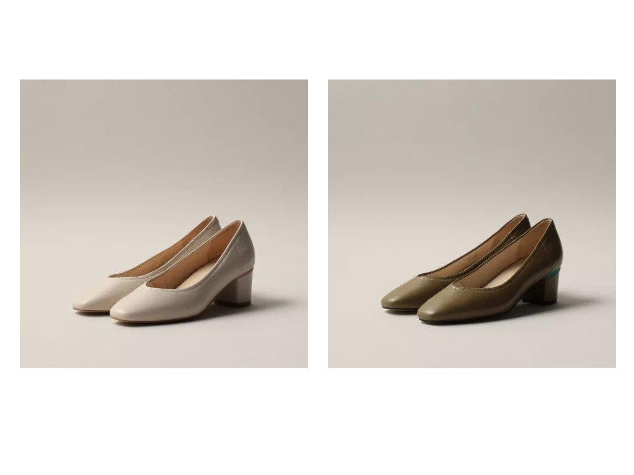【Odette e Odile/オデット エ オディール】のOFC スクエアソフト パンプス50 【シューズ・靴】おすすめ!人気トレンド・レディースファッション通販 おすすめで人気の流行・トレンド、ファッションの通販商品 インテリア・家具・メンズファッション・キッズファッション・レディースファッション・服の通販 founy(ファニー) https://founy.com/ ファッション Fashion レディースファッション WOMEN クッション シューズ スクエア |ID:crp329100000046504