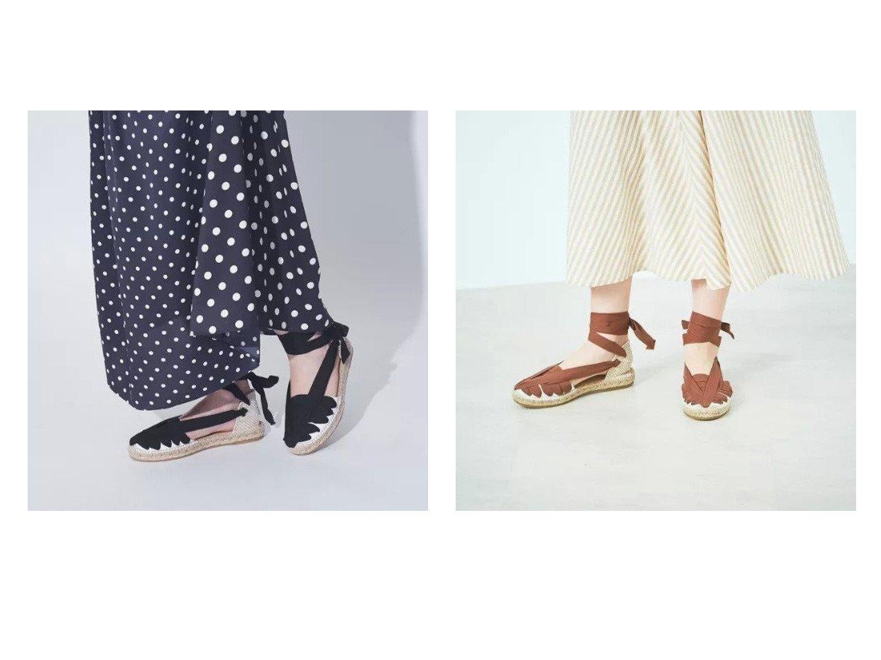 【Rouge vif/ルージュ ヴィフ】の【LA MANUAL ALPARGATERA 】レースアップサンダル 【シューズ・靴】おすすめ!人気トレンド・レディースファッション通販 おすすめで人気の流行・トレンド、ファッションの通販商品 インテリア・家具・メンズファッション・キッズファッション・レディースファッション・服の通販 founy(ファニー) https://founy.com/ ファッション Fashion レディースファッション WOMEN コレクション サンダル シューズ ハンド バスク レース |ID:crp329100000046509