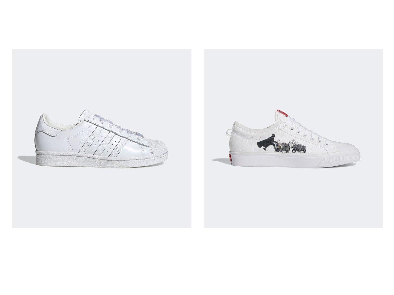 【adidas/アディダス】のSUPERSTAR BEAMS&ニッツァ × Nizza × Star Wars 【シューズ・靴】おすすめ!人気トレンド・レディースファッション通販 おすすめで人気の流行・トレンド、ファッションの通販商品 インテリア・家具・メンズファッション・キッズファッション・レディースファッション・服の通販 founy(ファニー) https://founy.com/ ファッション Fashion レディースファッション WOMEN 春 Spring クラシック シューズ ライニング 2021年 2021 S/S・春夏 SS・Spring/Summer 2021春夏・S/S SS/Spring/Summer/2021 |ID:crp329100000046512