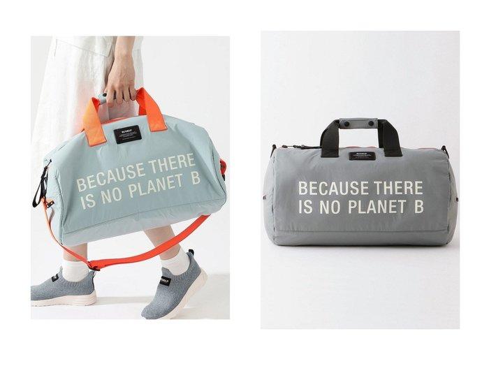 【ECOALF/エコアルフ】のMONTANA バッグ MONTANA WEEKEND BAG 【バッグ・鞄】おすすめ!人気トレンド・レディースファッション通販 おすすめ人気トレンドファッション通販アイテム 人気、トレンドファッション・服の通販 founy(ファニー) ファッション Fashion レディースファッション WOMEN バッグ Bag おすすめ Recommend ショルダー トラベル ボストンバッグ 軽量 |ID:crp329100000046515