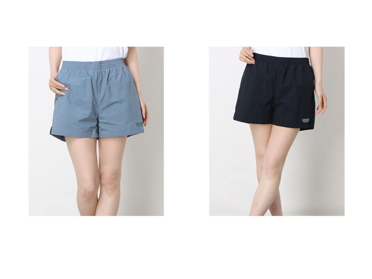 【GUESS/ゲス】のLogo Nylon Shorts おすすめ!人気トレンド・レディースファッション通販 おすすめで人気の流行・トレンド、ファッションの通販商品 インテリア・家具・メンズファッション・キッズファッション・レディースファッション・服の通販 founy(ファニー) https://founy.com/ ファッション Fashion レディースファッション WOMEN 2021年 2021 2021春夏・S/S SS/Spring/Summer/2021 S/S・春夏 SS・Spring/Summer ショート ジャケット セットアップ ドローストリング フィット 夏 Summer 春 Spring |ID:crp329100000046824