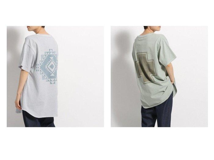 【PENDLETON/ペンドルトン】のベッチュウTシャツ おすすめ!人気トレンド・レディースファッション通販 おすすめ人気トレンドファッション通販アイテム 人気、トレンドファッション・服の通販 founy(ファニー) ファッション Fashion レディースファッション WOMEN トップス・カットソー Tops/Tshirt シャツ/ブラウス Shirts/Blouses ロング / Tシャツ T-Shirts カットソー Cut and Sewn アメリカン カットソー ネイティブ ブランケット プリント 別注 モチーフ ラウンド NEW・新作・新着・新入荷 New Arrivals お家時間・ステイホーム Home Time/Stay Home  ID:crp329100000046827
