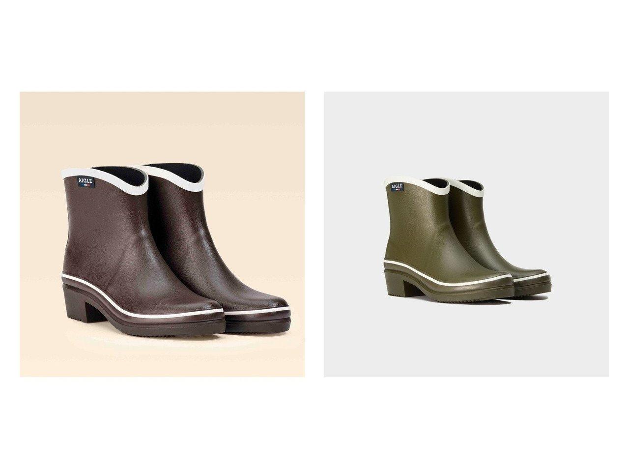 【AIGLE/エーグル】のミスジュリエットボッティロンポップラバーブーツ 【シューズ・靴】おすすめ!人気トレンド・レディースファッション通販 おすすめで人気の流行・トレンド、ファッションの通販商品 インテリア・家具・メンズファッション・キッズファッション・レディースファッション・服の通販 founy(ファニー) https://founy.com/ ファッション Fashion レディースファッション WOMEN アンクル エレガント シューズ ショート 人気 定番 Standard |ID:crp329100000046875