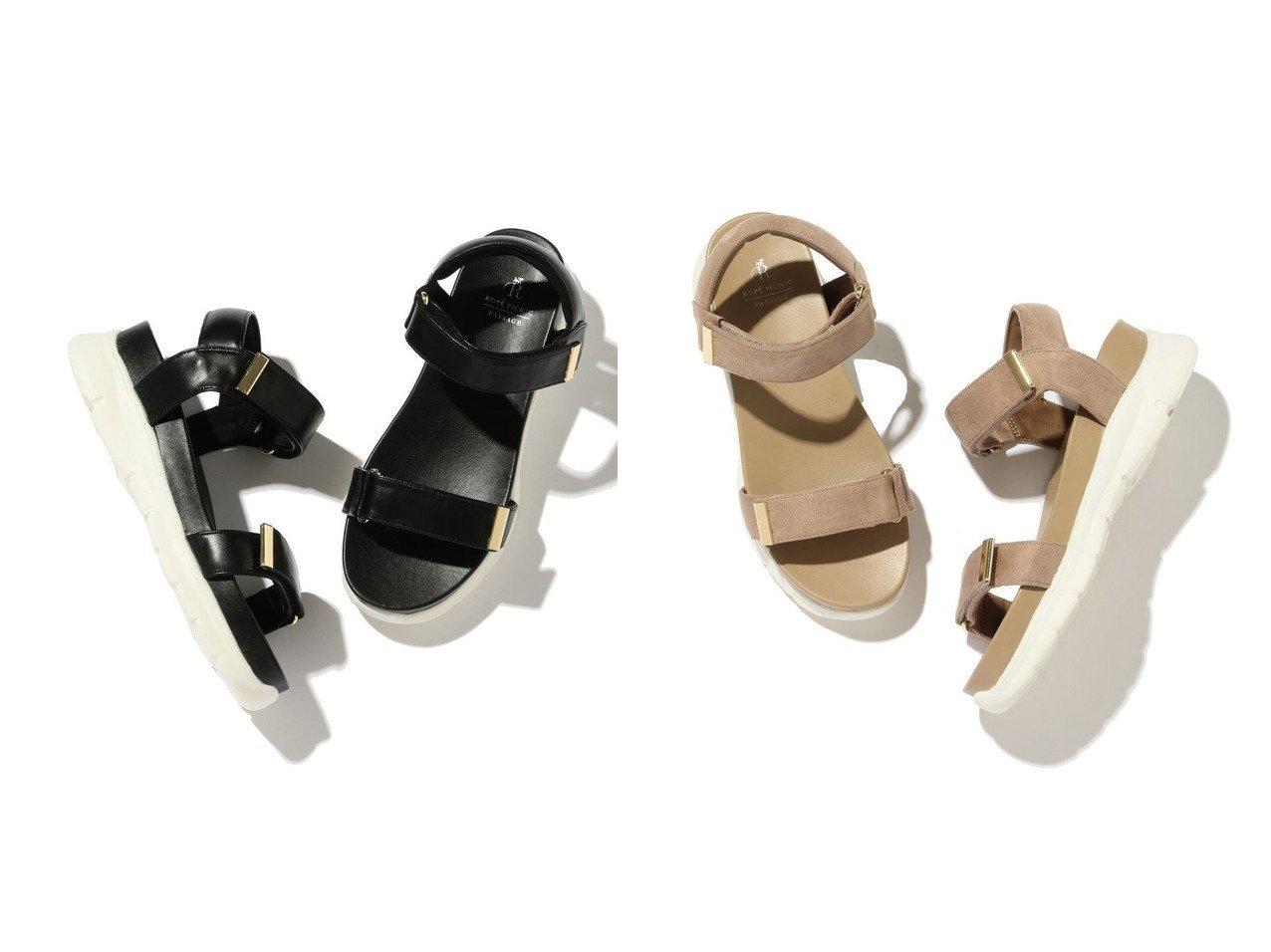 【ROPE'PICNIC PASSAGE/ロペピクニック パサージュ】のワニカンベルクロスニーカーサンダル 【シューズ・靴】おすすめ!人気トレンド・レディースファッション通販 おすすめで人気の流行・トレンド、ファッションの通販商品 インテリア・家具・メンズファッション・キッズファッション・レディースファッション・服の通販 founy(ファニー) https://founy.com/ ファッション Fashion レディースファッション WOMEN エレガント サンダル シューズ ソックス ミュール メタル ラップ |ID:crp329100000046878
