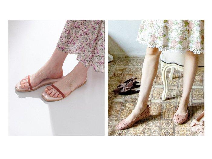 【TOCCA/トッカ】のSHEER SANDALS フラットサンダル&CANDY CLOVER FLATSHOES フラットシューズ 【シューズ・靴】おすすめ!人気トレンド・レディースファッション通販 おすすめ人気トレンドファッション通販アイテム 人気、トレンドファッション・服の通販 founy(ファニー) ファッション Fashion レディースファッション WOMEN 送料無料 Free Shipping 2021年 2021 2021春夏・S/S SS/Spring/Summer/2021 S/S・春夏 SS・Spring/Summer サンダル シューズ シンプル チャーム テクスチャー トレンド フラット ブロック ワンポイント 夏 Summer |ID:crp329100000046886